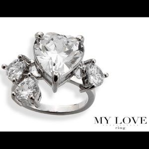 My Love Ring By Park Lane w/Gift Box Size 6